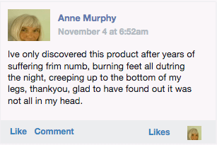 Review of Nerve Renew from Anne Murphy