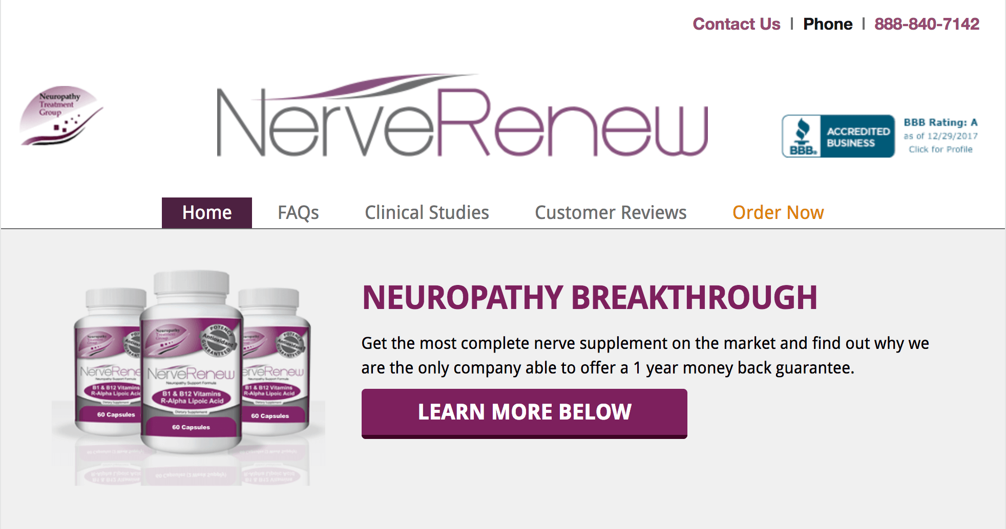 Who Is The Neuropathy Treatment Group?