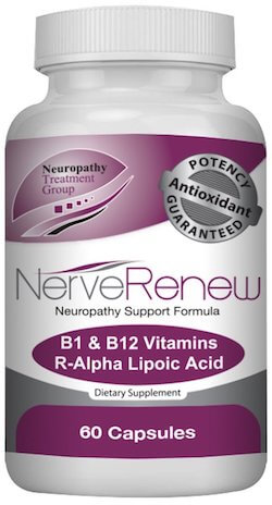 60 capsule bottle of Nerve Renew