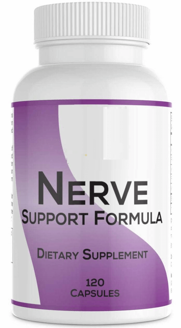 Nerve Support Formula bottle by Real health Products LLC